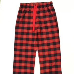 Disney Accessories - Disney Women Sz S Red & Black Plaid Pajama Bottoms